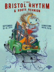 Bristol Rhythm & Roots Reunion 2016 Poster