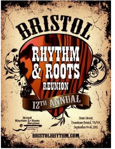Bristol Rhythm and Roots Reunion 2012 Poster
