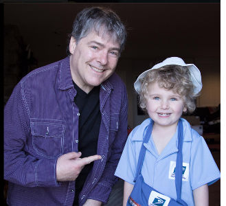 Béla Fleck and son Juno