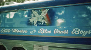 Blue Grass Boys bus