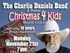 Charlie Daniels Band Christmas 4 Kids