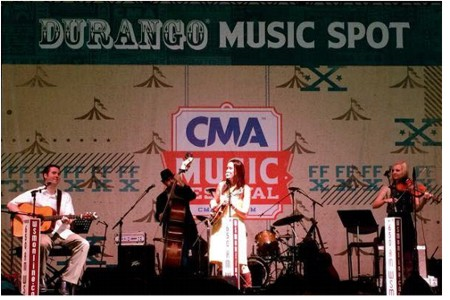 Darin & Brooke Aldridge at CMA Music Fest
