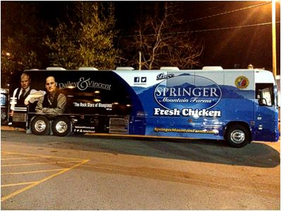 Dailey & Vincent Bus Wrap