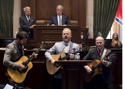 Dailey & Vincent in Tennessee Senate