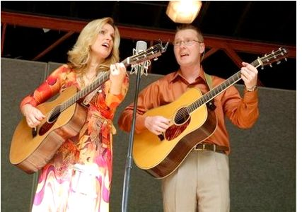 Darrell Webb and Rhonda Vincent