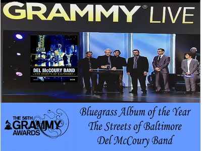 Del McCoury Band GRAMMY Win 2014