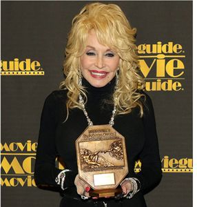 Dolly Parton with MovieGuide Award