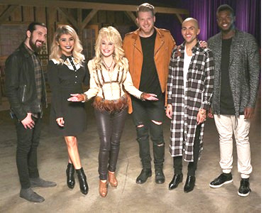 Dolly Parton and Pentatonix