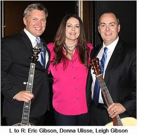 Donna Ulisse and the Gibson Brothers