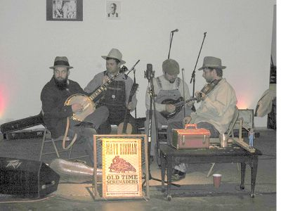 Matt Kinman and His Old Time Serenaders