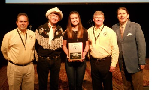 Maddie Denton Receives Grand Master Fiddler Award