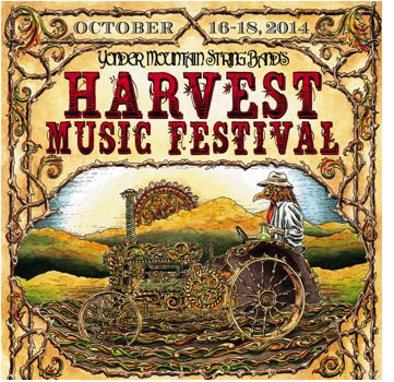 Yonder Mountain String Band's Harvest Music Festival 2014