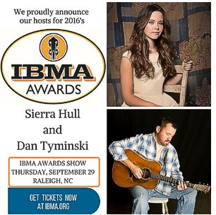 Sierra Hull & Day Tyminski Host IBMA Awards Show