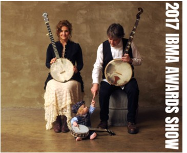 Béla Fleck & Abigail Washburn to Host 28th IBMA Awards Show