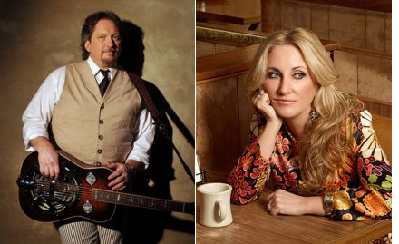 Jerry Douglass and Lee Ann Womack