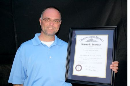 Jeff Brown-Kentucky Colonel Honors