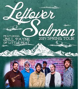 Leftover Salmon Spring Tour 2014