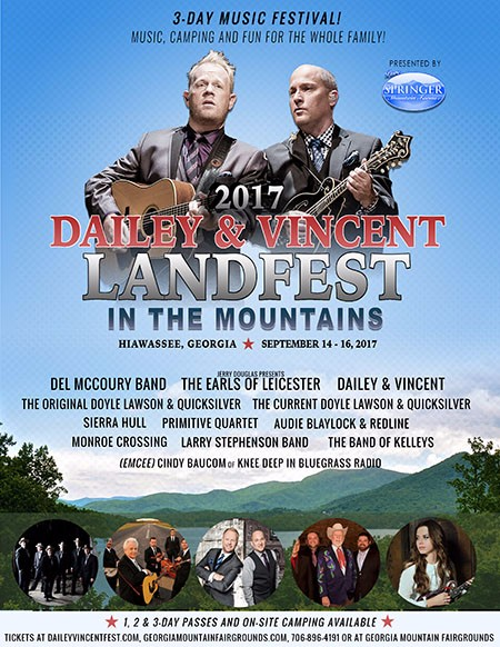 Dailey & Vincent LandFest in the Mountains