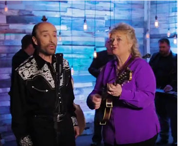 Lee Greenwood with Lorraine Jordan