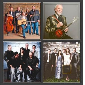 Balsam Range, Doyle Lawson, Flatt Lonesome, The Grascals