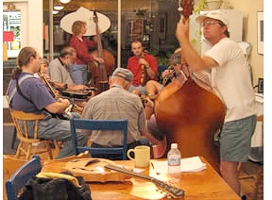 Radford Fiddle & Banjo Jam