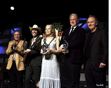 Pat Pattison, David Rawlings, Gillian Welch, T Bone Burnett, and Berklee President Roger Brown.