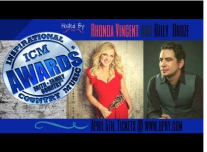 Rhonda Vincent and Billy Droze to Co-Host ICM