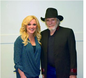 Rhonda Vincent and Merle Haggard
