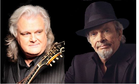 Ricky Skaggs and Merle Haggard
