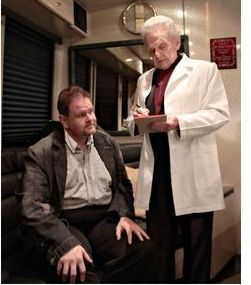 Don Rigsby with Dr. Ralph Stanley