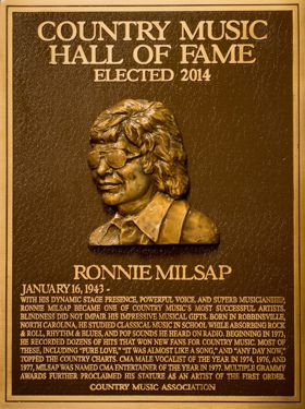 Ronnie Milsap Plaque