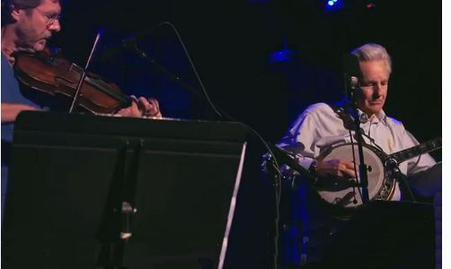 Sam Bush on Fiddle and Del McCoury on Banjo