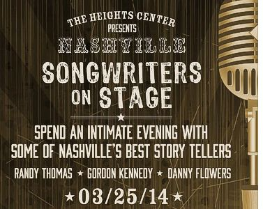 Nashville Songwriters on Stage