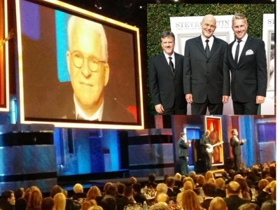 Steve Martin AFI Life Achievement with Lonesome River Band