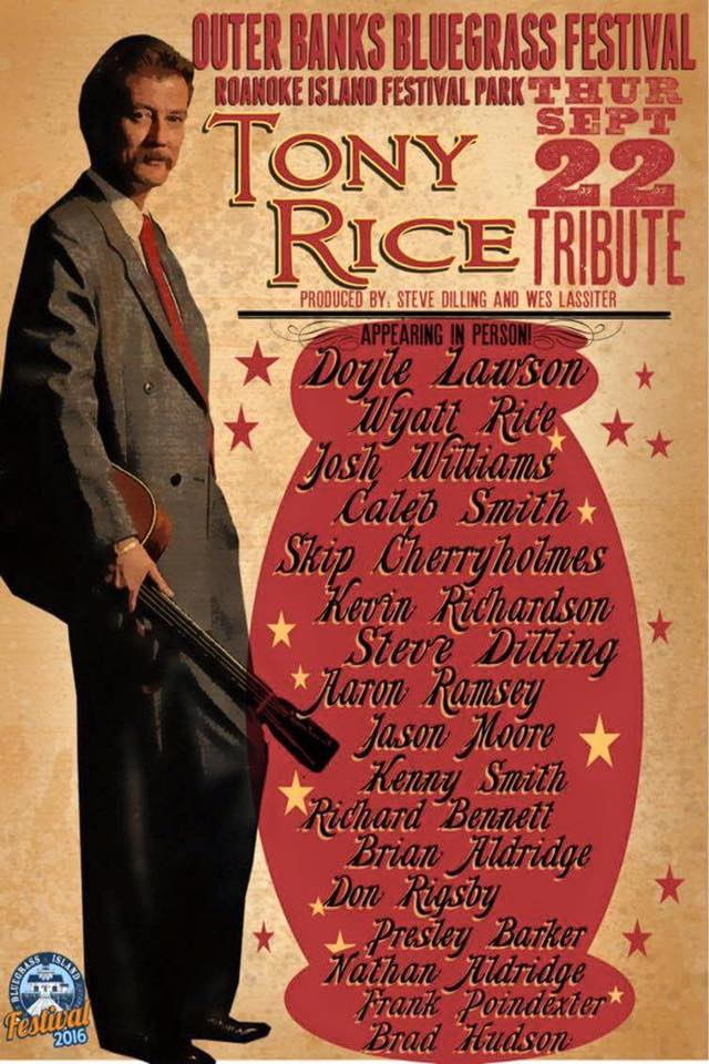 Tony Rice Tribute Concert