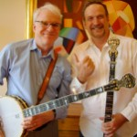 Steve Martin with Mark Johnson